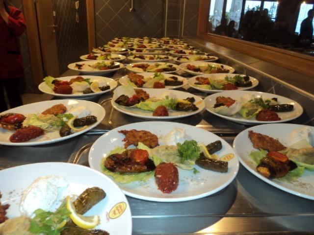 Delicious plates...