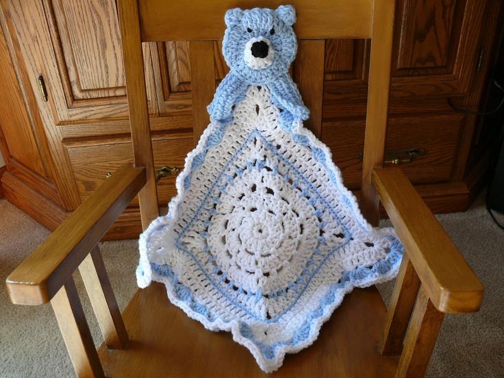 1000+ Bilder zu Crochet security baby blanket auf Pinterest ...