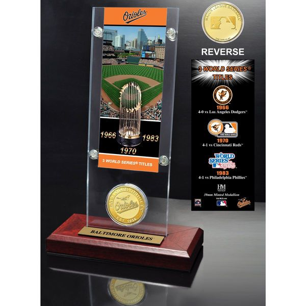 Baltimore Orioles Highland Mint Acrylic World Series Ticket - $39.99