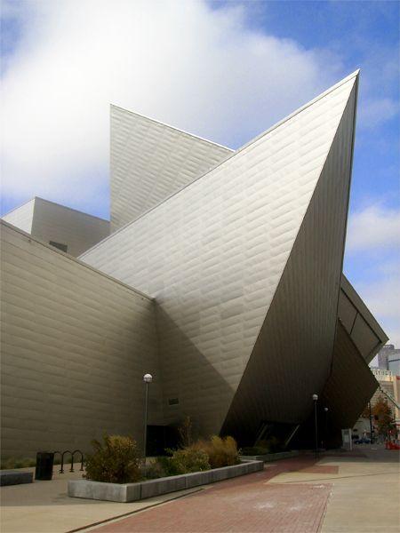 Denver Art Museum / Daniel Libeskind #architecture ☮k☮