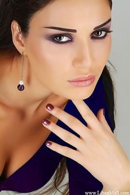 maquillage libanais 21 - Maquillage Libanais Mariage