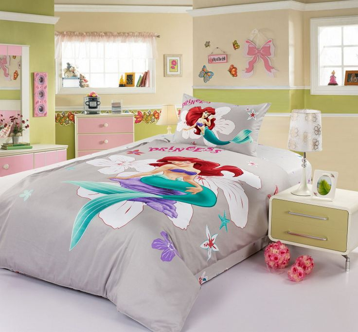 Princess Ariel Grey Disney Bedding Sets   Disney House   Pinterest   Disney  bedding  Bedding sets and Room ideas. Princess Ariel Grey Disney Bedding Sets   Disney House   Pinterest