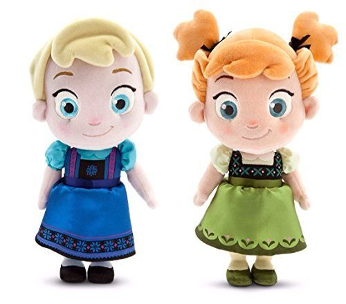 Collection Of Disney Frozen Plush Dolls - Soft, Cuddly Toys For Little Girls
