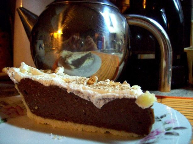 """Hersheys Hotel Chocolate Cream Pie - The classic chocolate cream pie, served at the Hershey Hotel. While the nation was suffering through the Great Depression, the """"Chocolate King,"""" Milton S. Hershey, had a vision."""