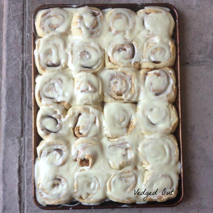 60 minute cinnamon rolls start to finish- no fat adaptation-
