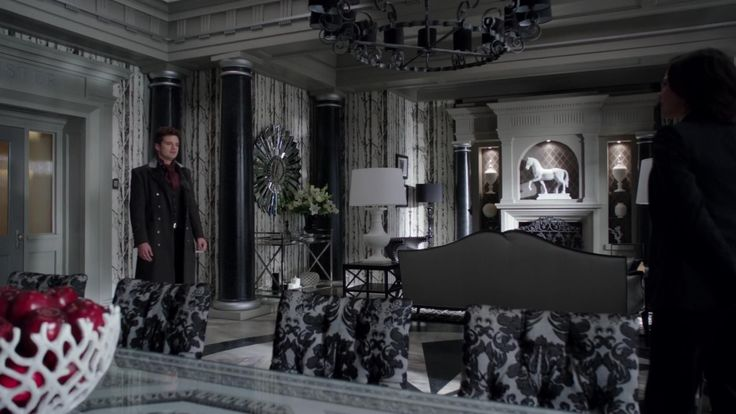 Blue 11 Interiors Tv Favorite Regina S Office From Once