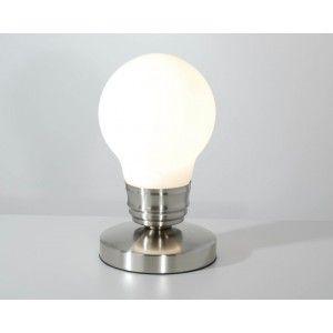 Lampe tactile en forme d'ampoule 27€