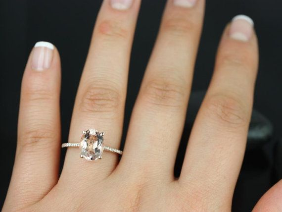 The Blake, modelled after Blake Lively's engagement ring. lovely. maybe a smaller diamond.