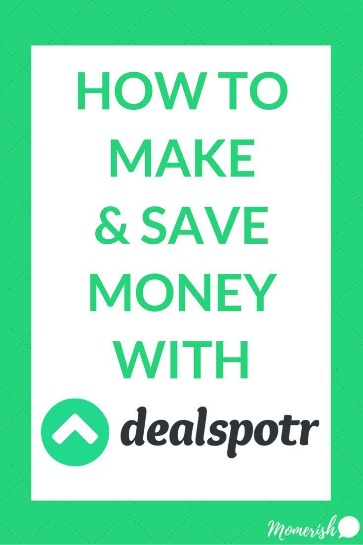 Learn how you can save money and make money with DealSpotr. Find the best deals online and earn by helping others save! via @keciahambrick