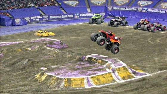 Maple Leaf Monster Jam Roared Its Way into Vancouver