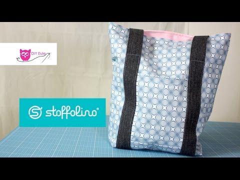 Stofftulpen nähen - Last Minute DIY / DIY Eule - YouTube