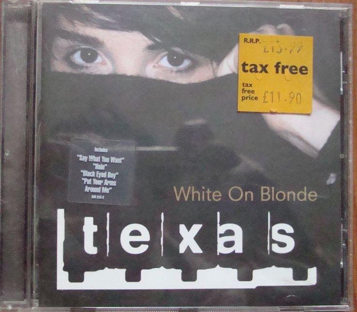 Texas – White On Blonde 534 315-2 Electronic, Rock, Pop Płyty CD Texas – White