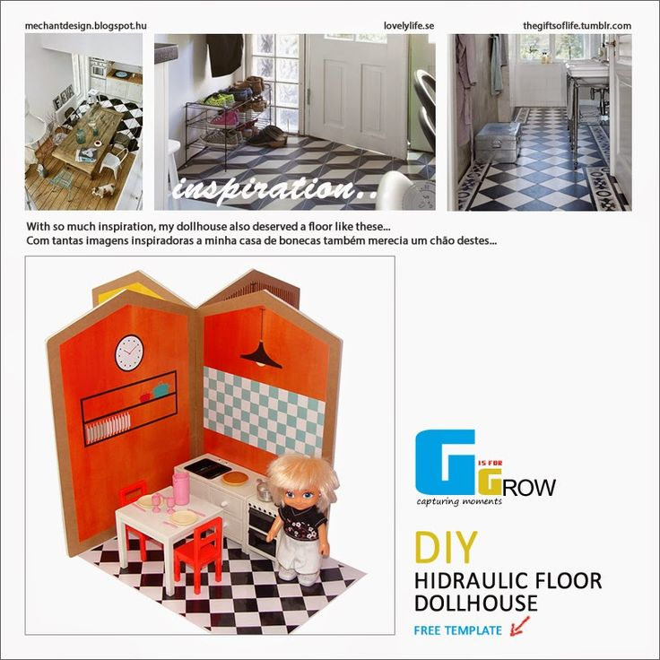 #freetemplate #hidraulic #tiles #dollhouse #kitchen #play #diy #portugal #dollhouses #doll #kit #miniature #toy #house  #toplay #babyroom #child #gisforgrow #barriguitas