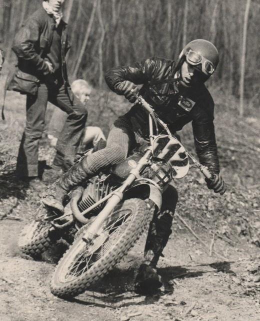 Italian Moto Cross Rider, 1971-1974