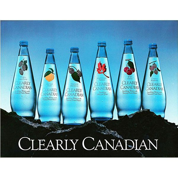 Original NY Seltzer and Clearly Canadian Return. The 90's is back! #flashback