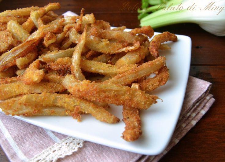 Finocchi snack, facili da preparare, ma bisogna sempre abbondare , vanno a ruba come le patatine.