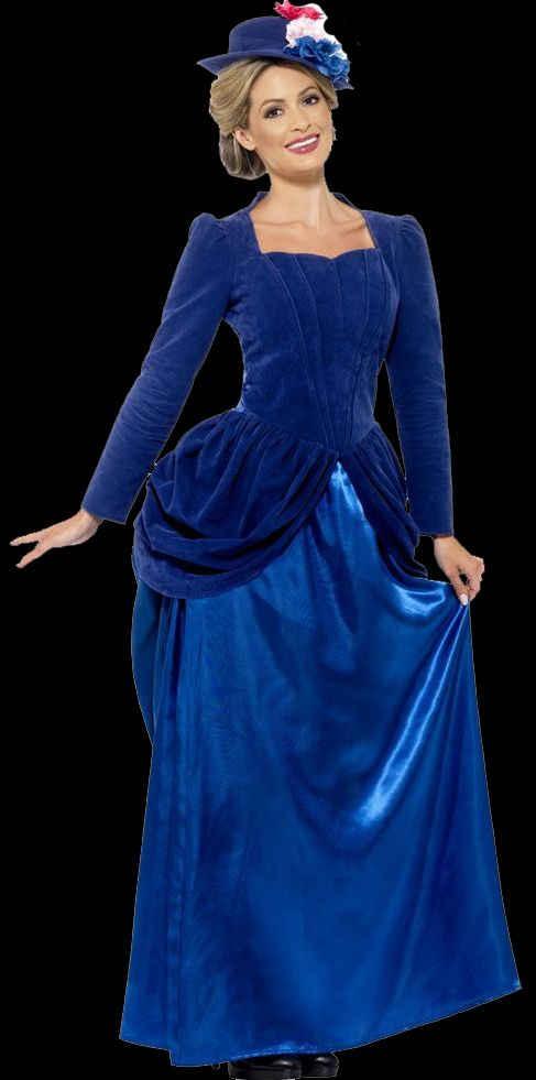 Adult Deluxe Victorian Vixen Costume - Halloween Horrors in Victorian London Party Decorating & Costume Ideas
