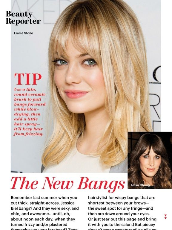 bangs.....Love em....gonna do it if I ever find a decent hair stylist again......