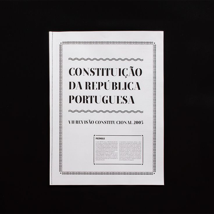 Constituição da República Portuguesa - Another Collective