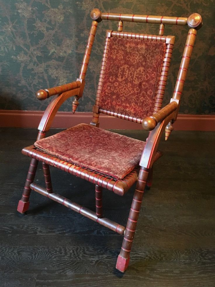 Hunzinger Chair, Marked: Bold design, Woven Seat and Red Detailing | eBay