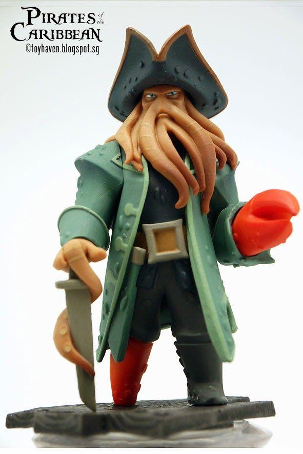 "toyhaven: Disney Infinity ""Pirates of the Caribbean"" Davy Jones 4-inch 10 cm Animated Marquette Figure"