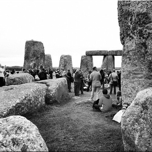 Summer Solstice at Stonehege, by Instagram