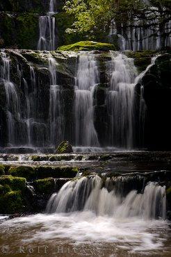 Purakaunui Falls Otago: The Purakaunui Falls are three different levels of waterfalls in Otago on the South Island of New Zealand.