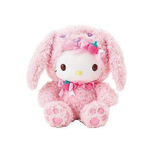 """shop.sanrio.com - Hello Kitty 9"""" Plush: Bunny"""