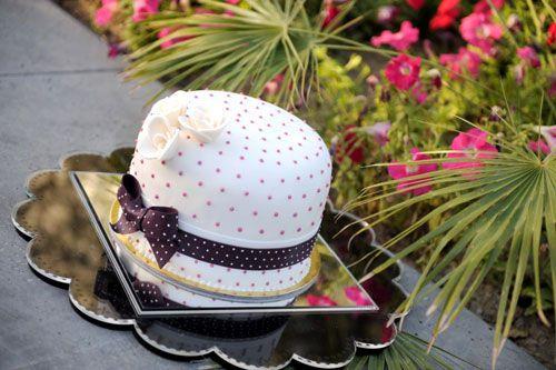 Torta per la festa della mamma a forma di cappello
