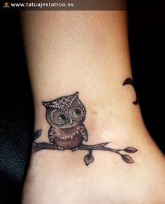17 mejores ideas sobre Tatuajes De Búho en Pinterest
