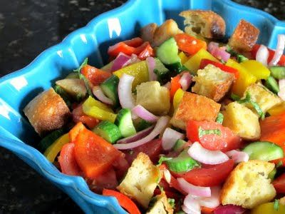 285 Best Images About Panzanella Recipes On Pinterest