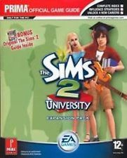 The Sims 2 University Expansion & Original Sims 2 PC PRIMA Strategy Guides