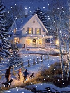 On our way home on Christmas Eve!