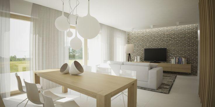 Family house interior design in Austria