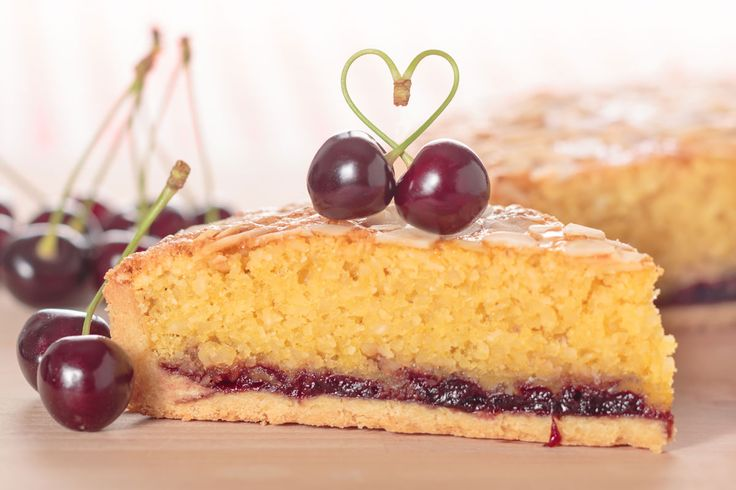 Mr Kiplings Cherry Bakewell Tarts are a happy memory from childhood, but this grown up version is better, I think Almond and Cherry are made for each other