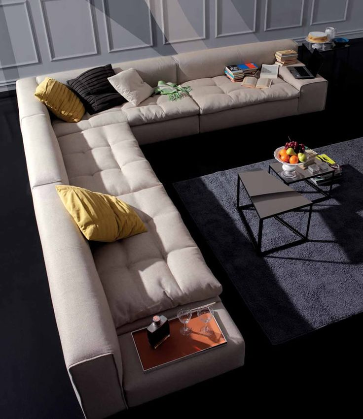 Chic Contemporary Furniture: Modern Italian Furniture Sofa