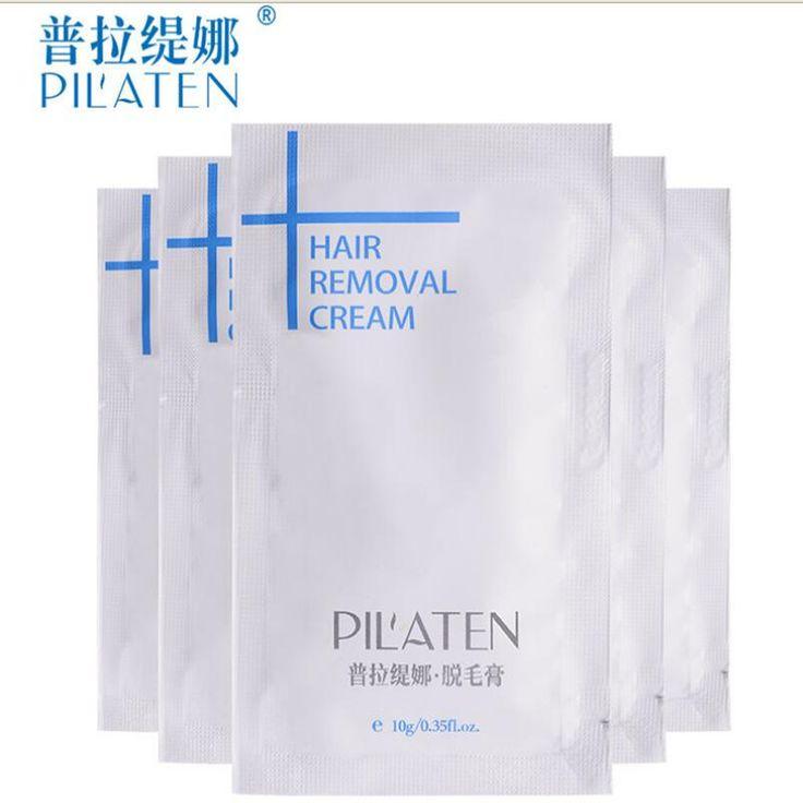 Wholesale,800pcs/lot Pilaten Hair Removal Cream Painless Depilatory Cream Armpit Legs 10g/PC
