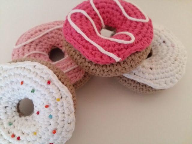Fée du tricot: Donuts au crochet  *tuto inside*