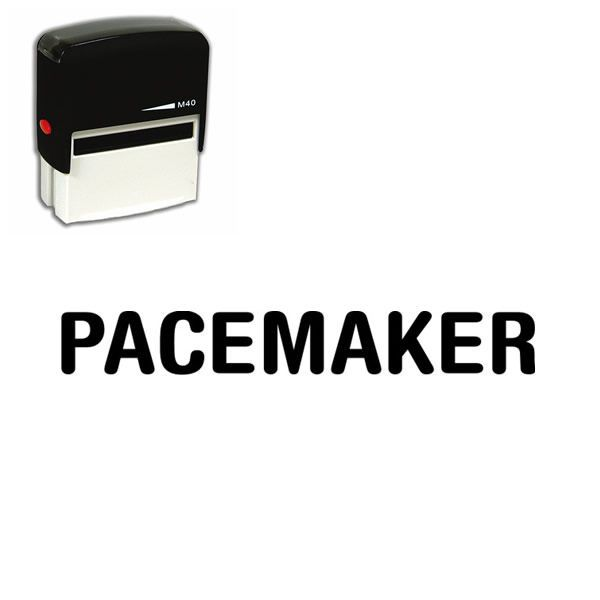 Are you looking for a medical office stamp online? Just one click and this Self Inking Pacemaker Rubber Medical #Stamp will make #paperwork more #efficient.