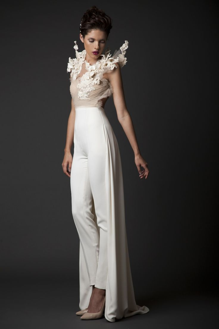 How about wedding trousers? Top 10 Bridal Trends for 2015