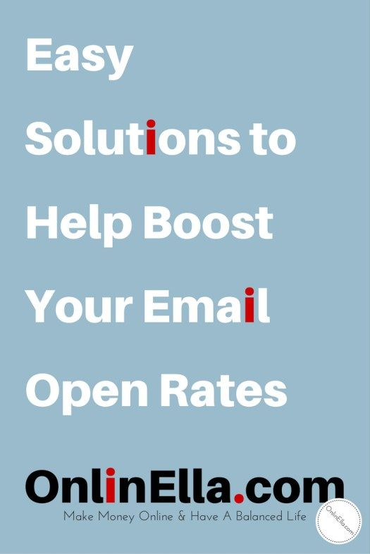 Easy Solutions to Help Boost Your Email Open Rates