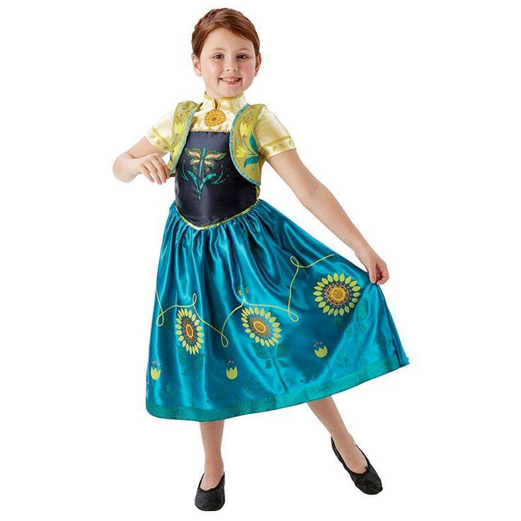 Frozen jurk Anna fever kind