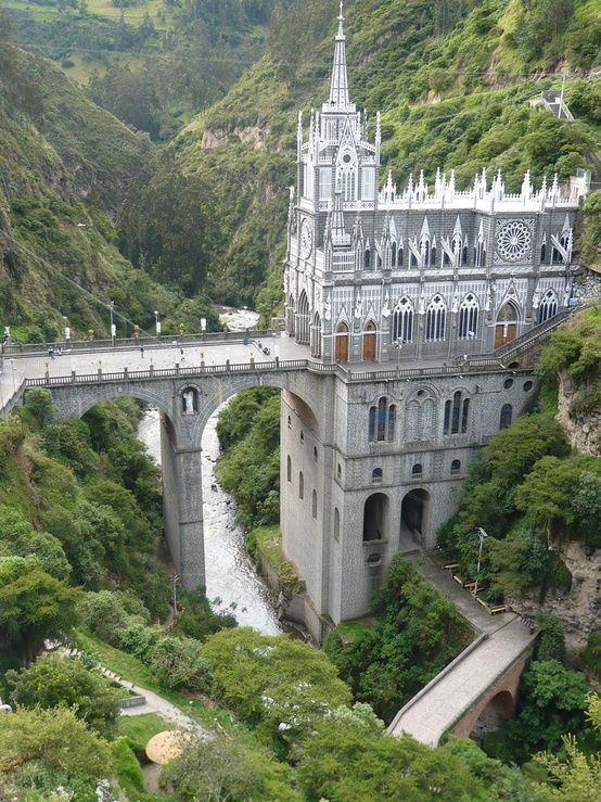 Las Lajas cathedral, Colombia | Interesting Pictures