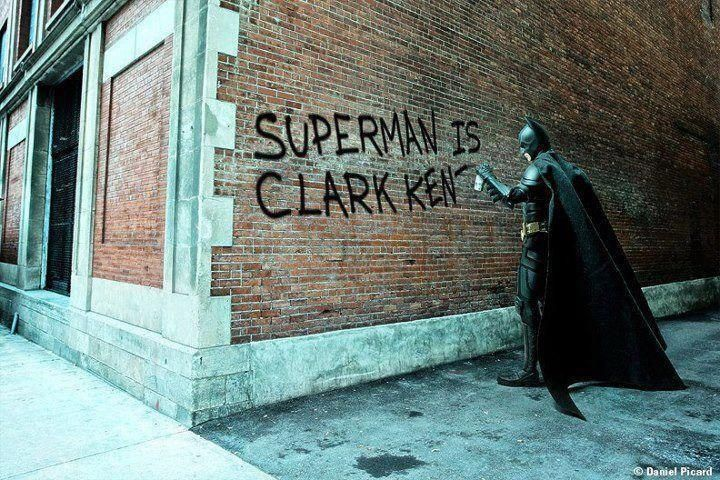 superman is…