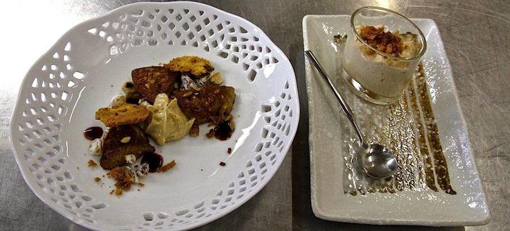 Scaloppa di foie gras, toast e cappuccino di Panettone Loison ai fichi, ristretto di Recioto | Ricetta di chef Davide Botta || #ricette #InsolitoPanettone