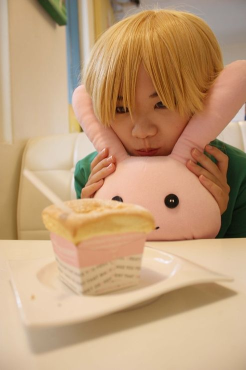Honey-senpai and Usa-chan -Ouran High School Host Club
