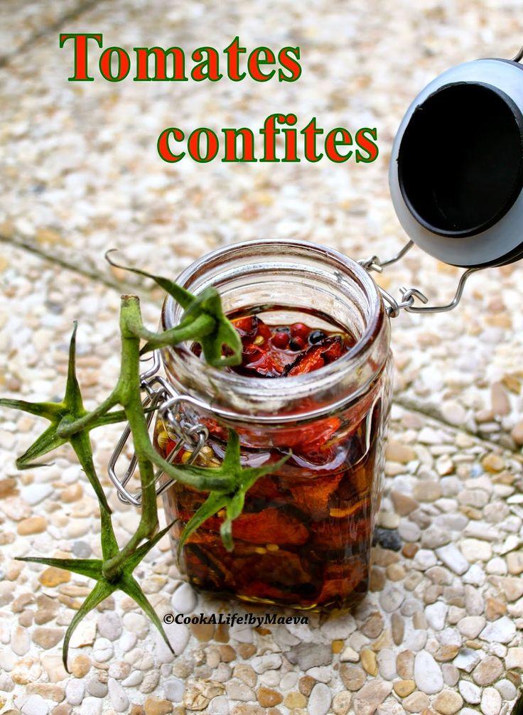 Cook A Life! by Maeva: Tomates confites { un jeu d'enfant ! }