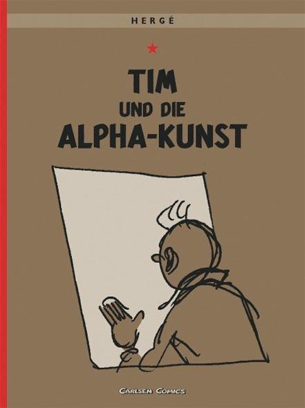 Tim & Struppi, Band 24: Tim und die Alpha-Kunst - Hergé - Softcover | CARLSEN Verlag