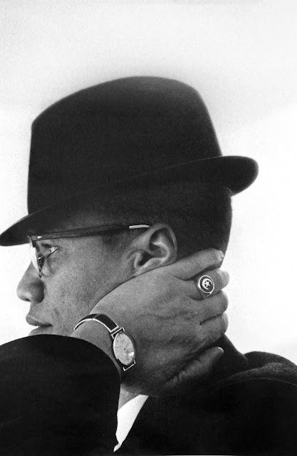 Malcolm X by Eve Arnold. S): Photographers, Eve Arnold, Magnum Photos, Malcolm X, Chicago, Portraits, People, 1961, Photography