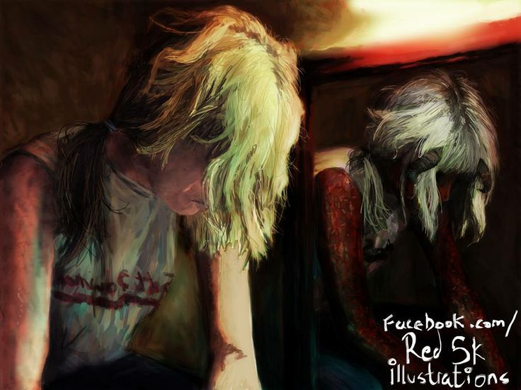 Miss Becky Painting by RedSkIllustrations  http://facebook.com/RedSkillustrations